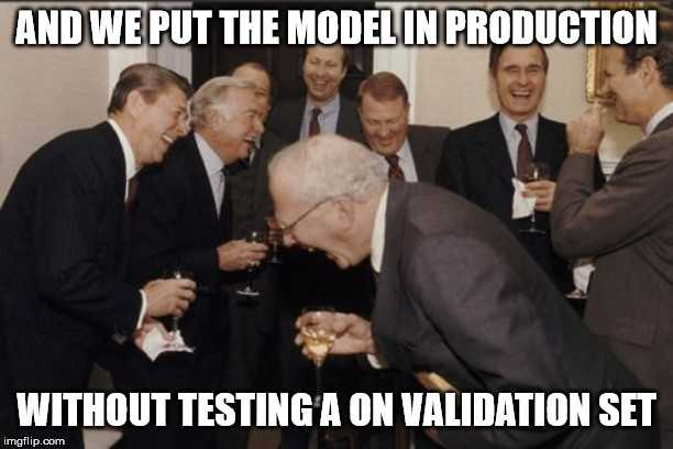 cross validation presidents joke meme